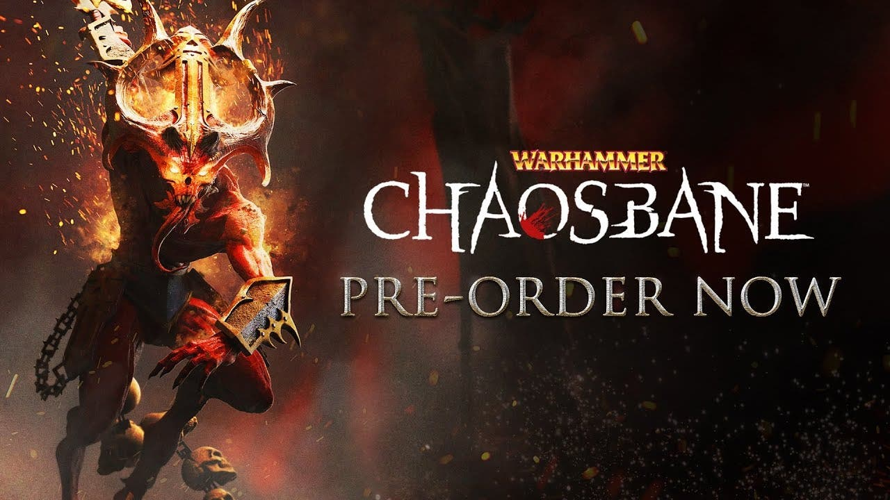 warhammer chaosbane is now avail