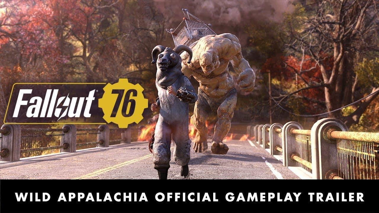 fallout 76 wild appalachia is a