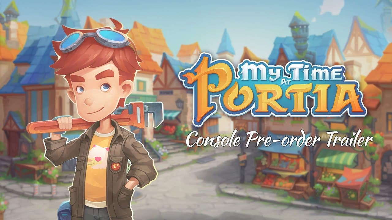 my time at portia coming to xbox