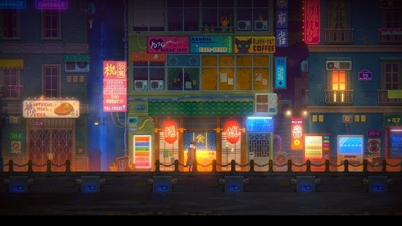tales of the neon sea a pixel ar