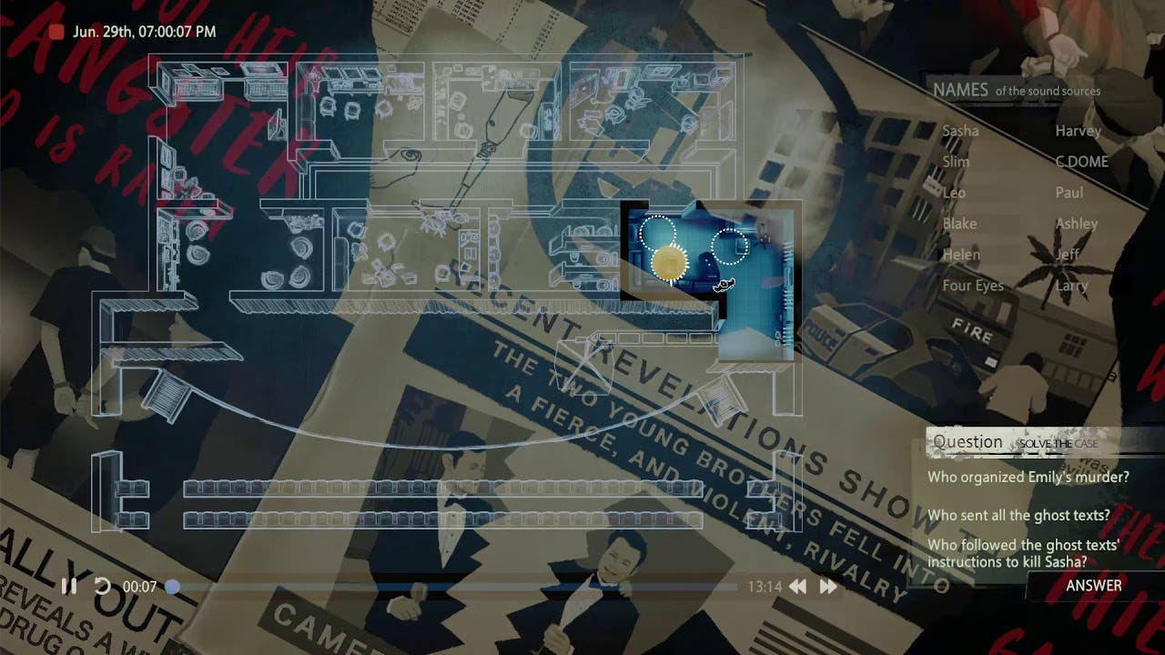 unheard is a detective game that