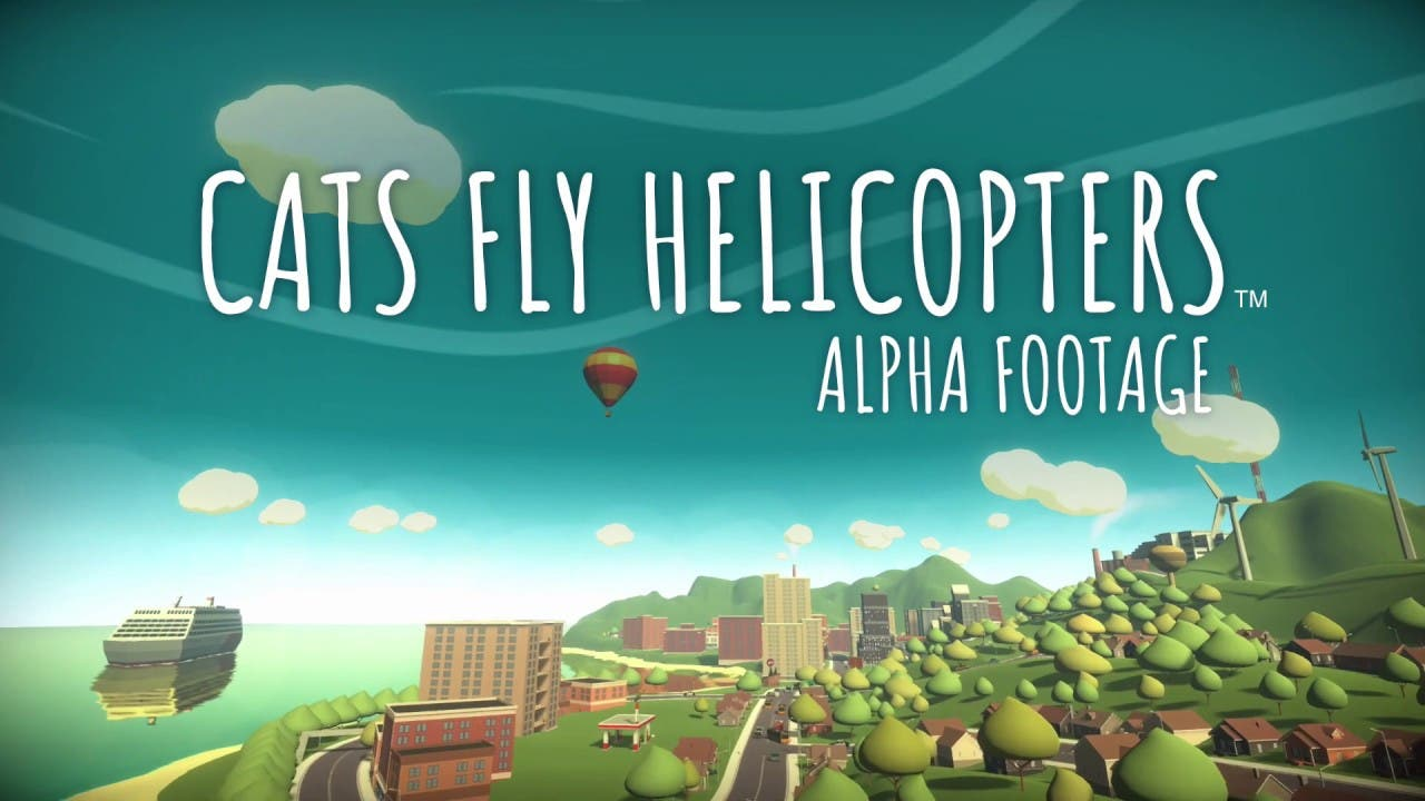 cats fly helicopters is flippfly