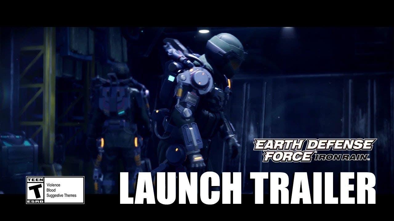 earth defense force iron rain ou