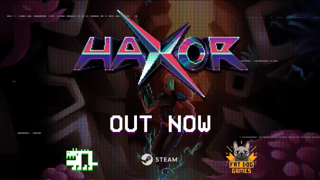 haxor is a 8 bit retro action pl