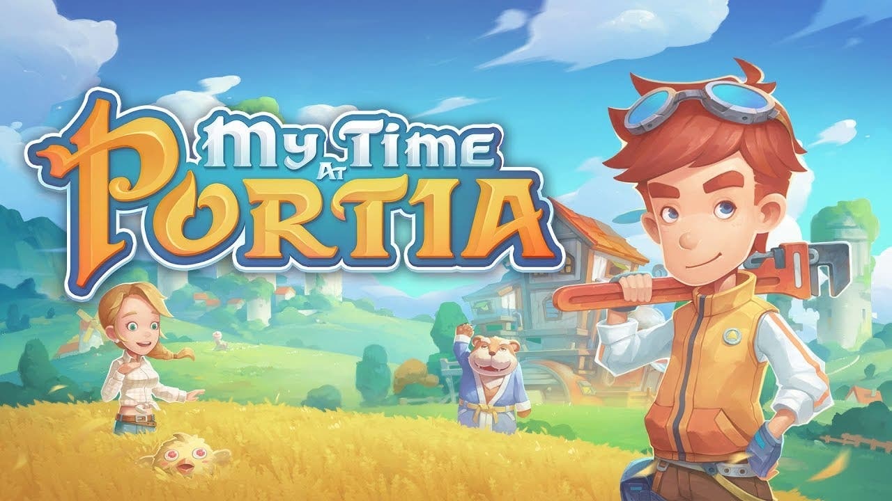 my time at portia is out now for