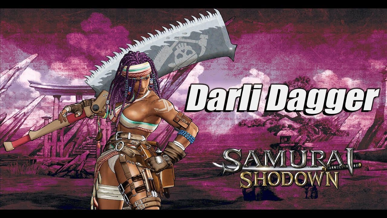 samurai shodown introduces darli