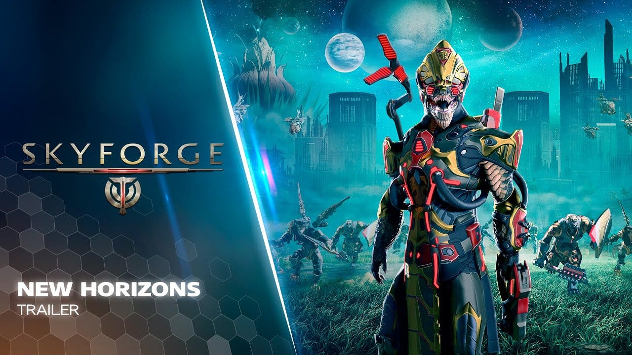skyforge goes through the wormho