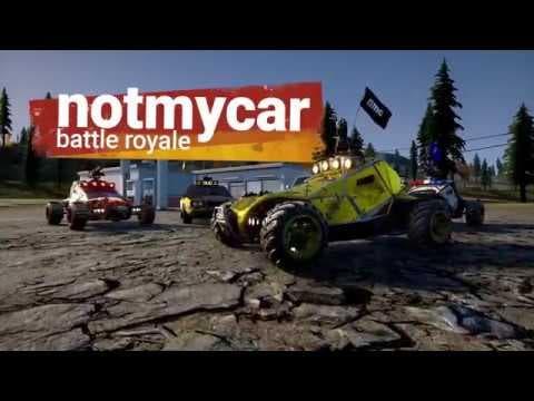 vehicle bound battle royale game