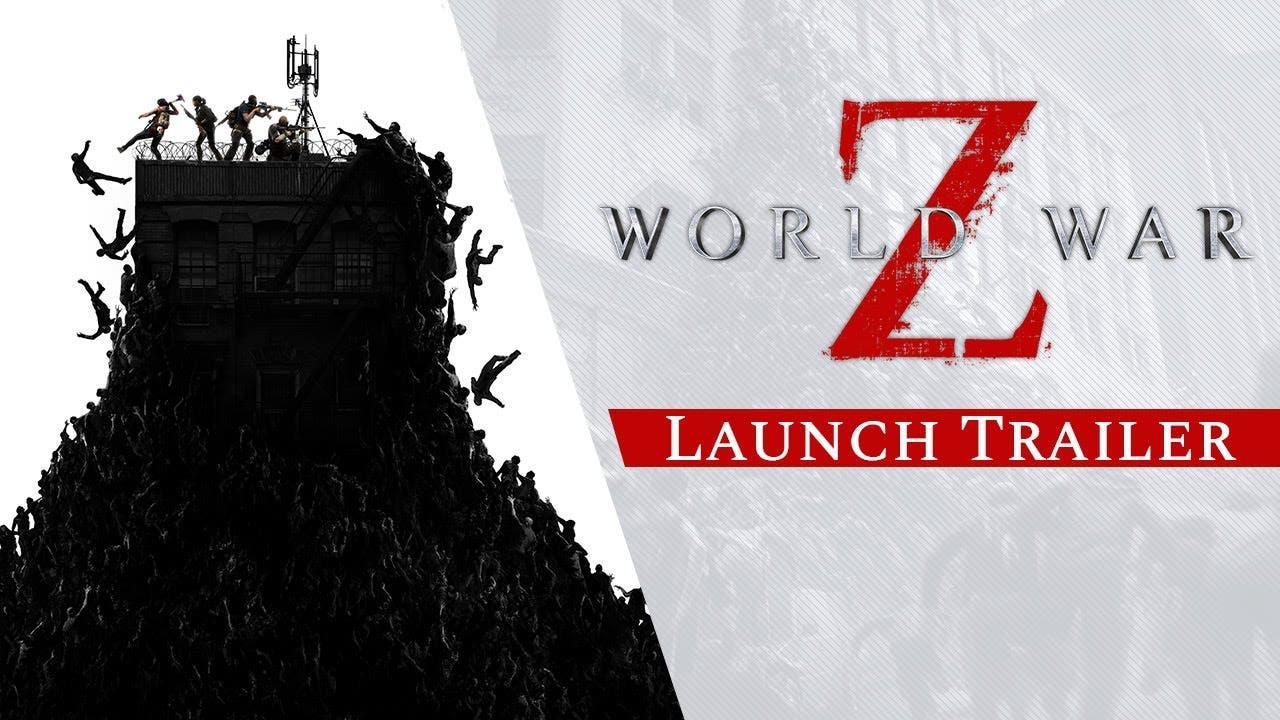 world war z launch trailer showc
