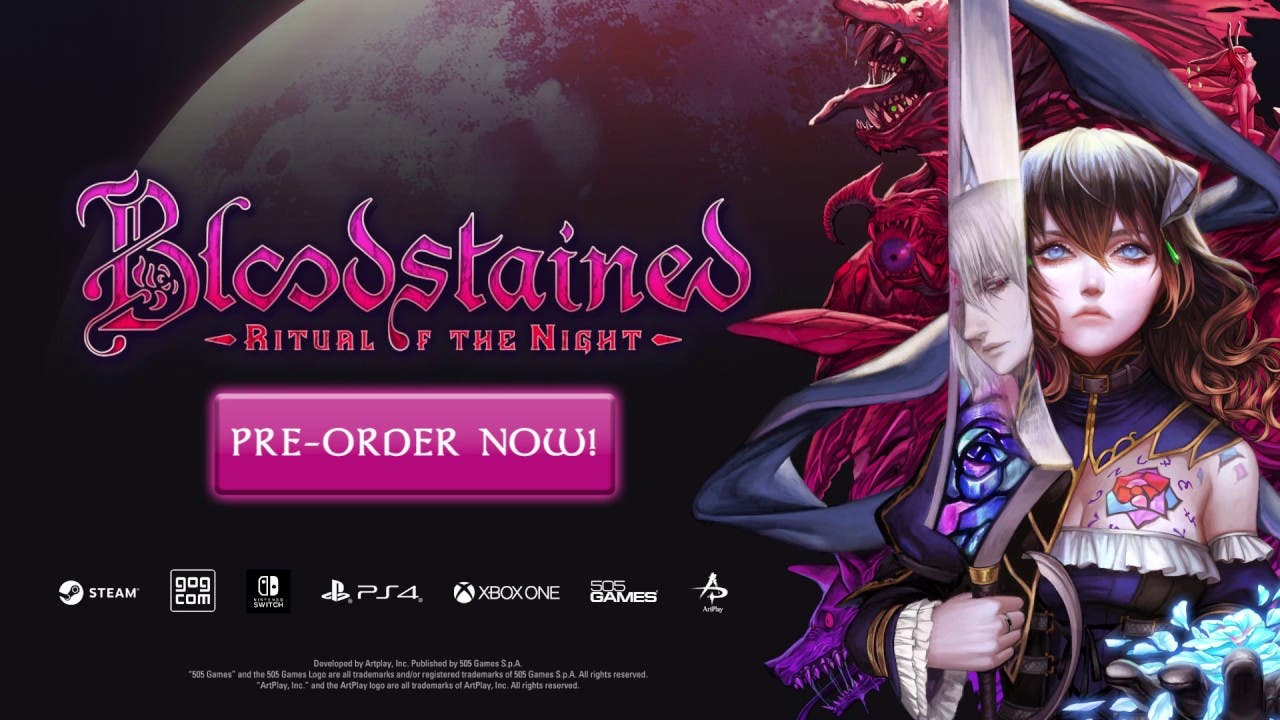 bloodstained ritual of the night 1