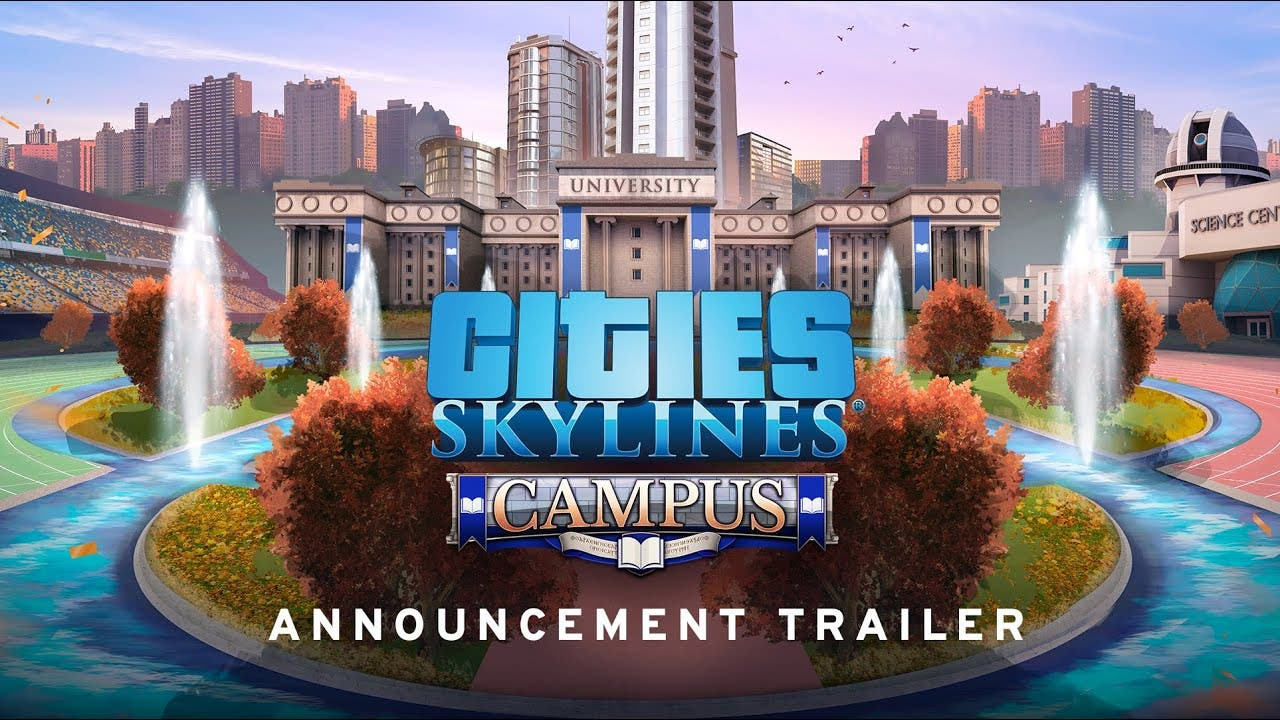 cities skylines heads to the uni