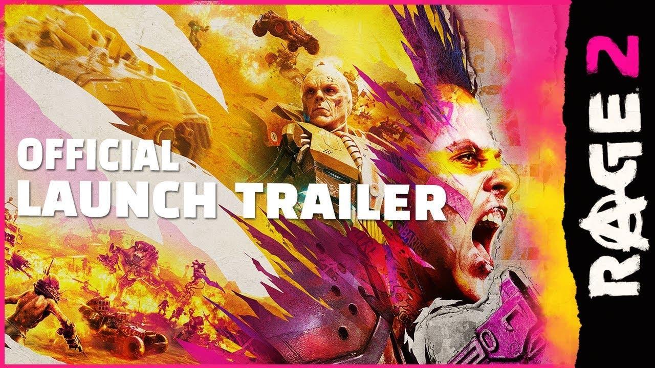 rage 2 launch trailer comes prio