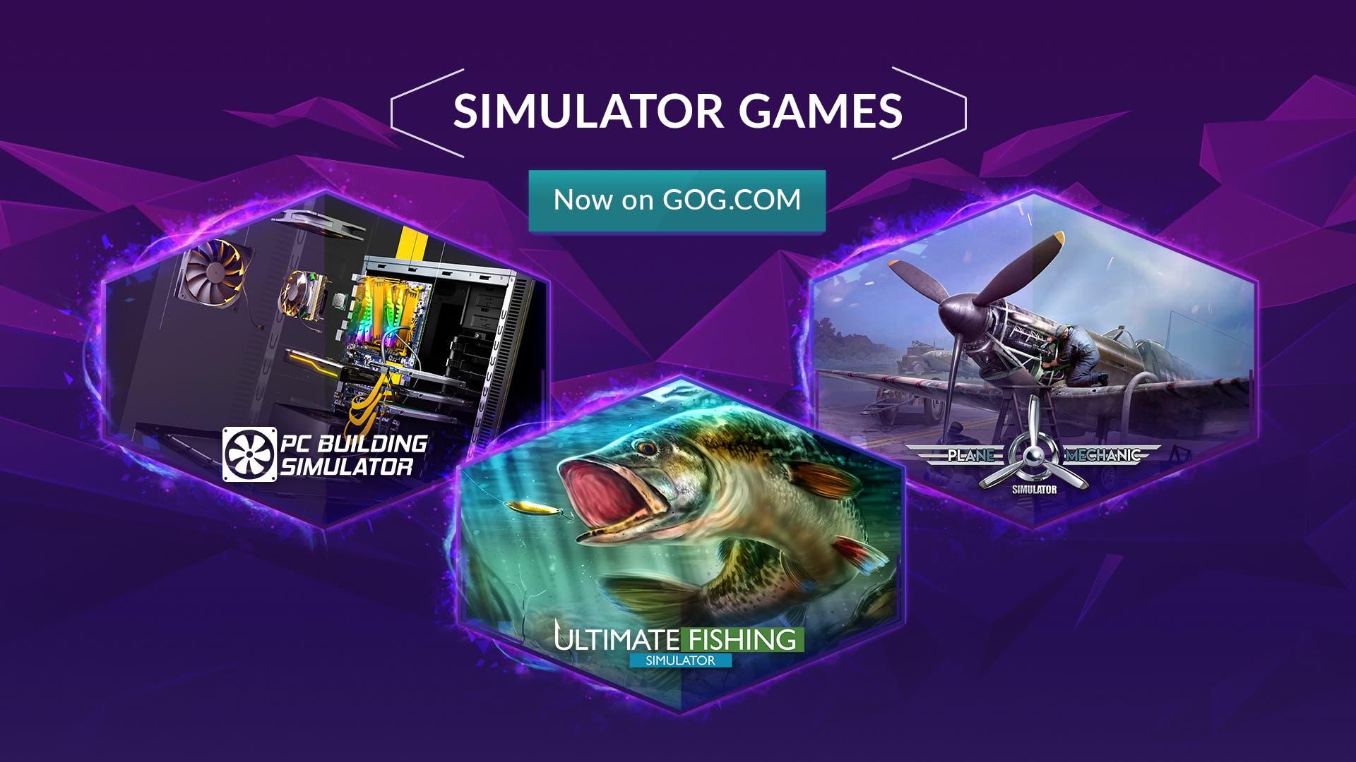 simulator games GOG