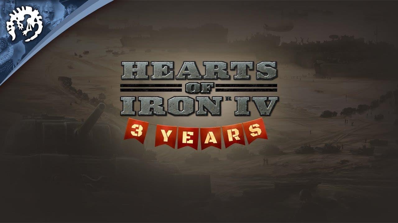 hearts of iron iv celebrates its