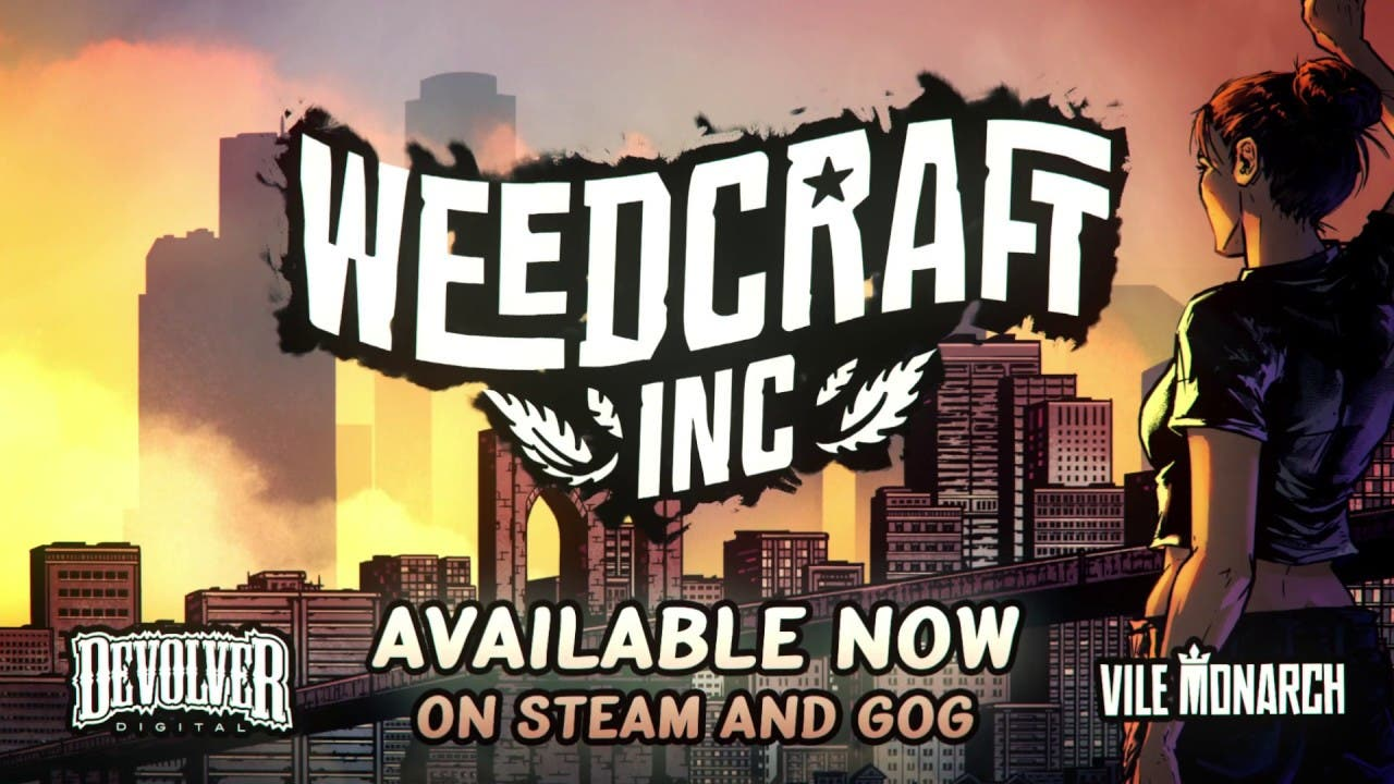 Weedcraft Inc receives FREE Heat Wave storyline DLC, base game discounted on Steam and GOG - A close up of a sign - PC game