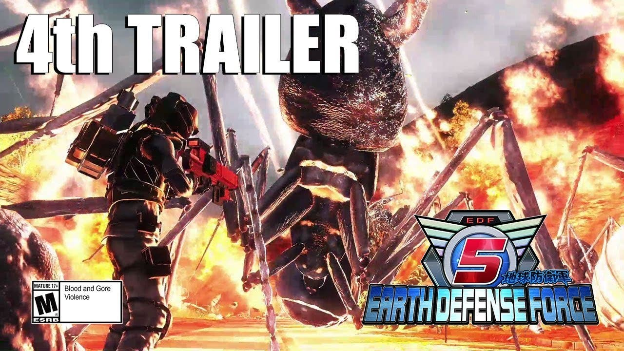 earth defense force 5 deploys on