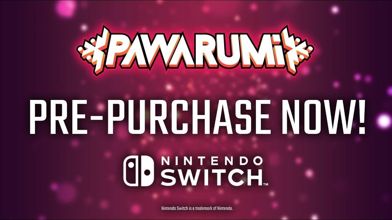 pawarumi releases onto switch to