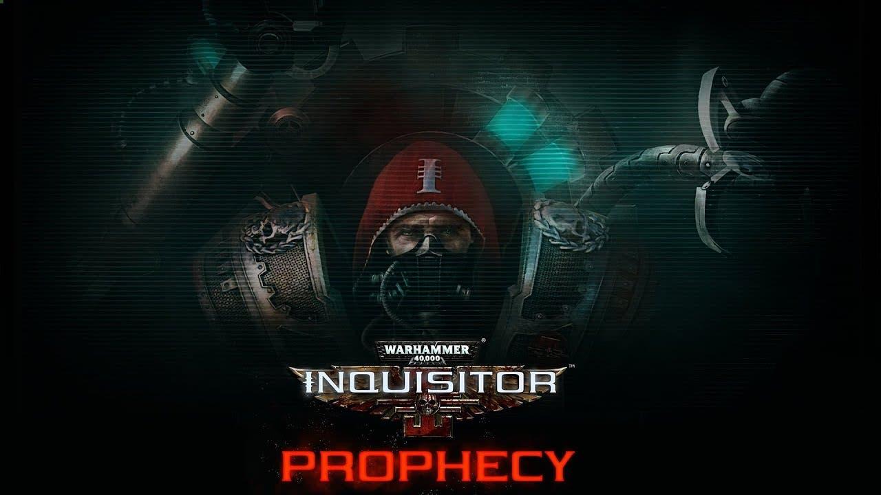 warhammer 40000 inquisitor proph
