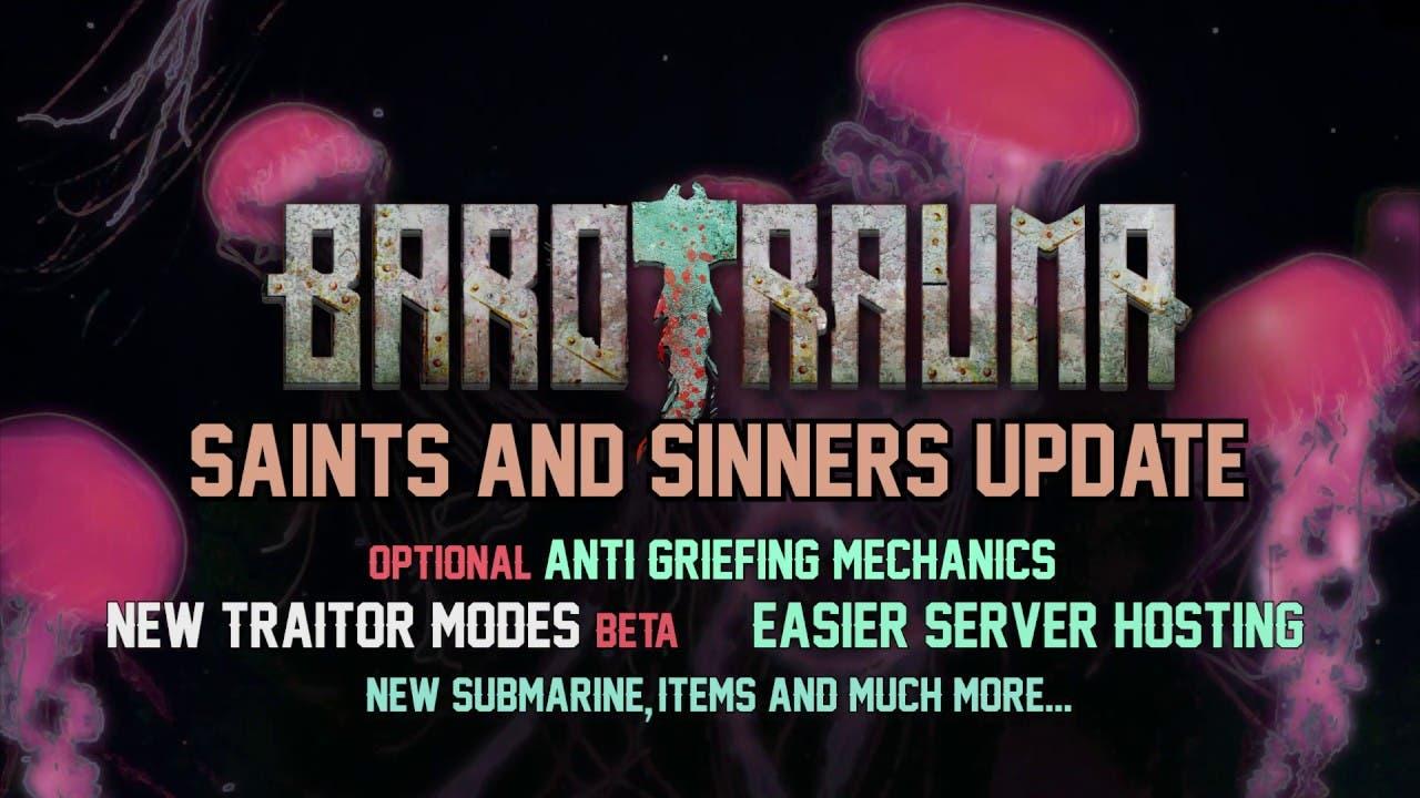 barotrauma saints sinners update