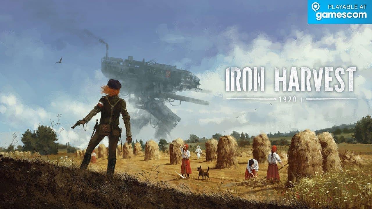 gamescom 2019 iron harvest the a