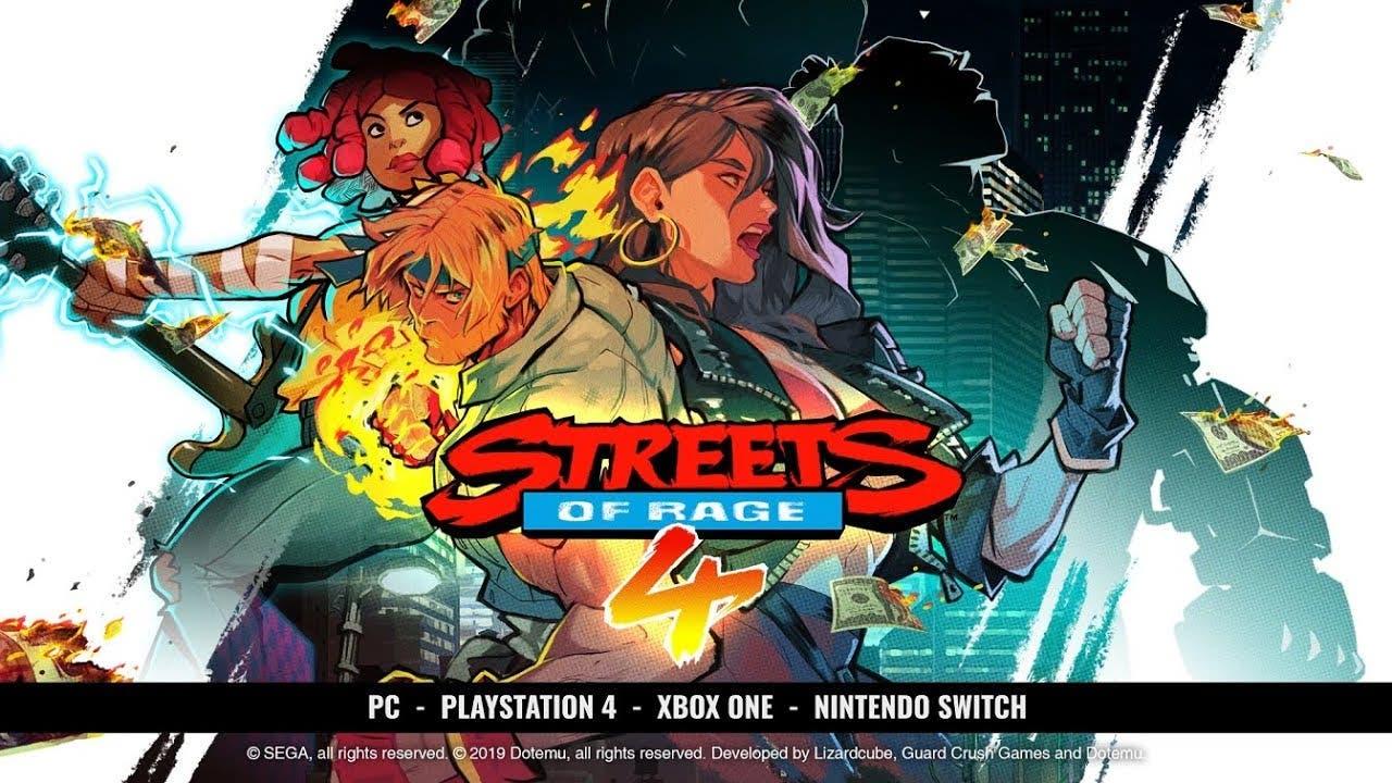 gamescom 2019 streets of rage 4