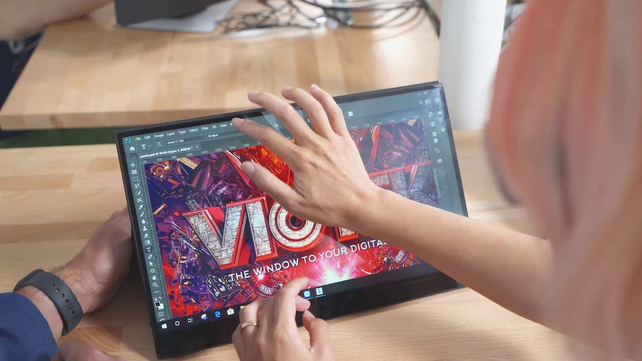 viotek linq touch portable touch