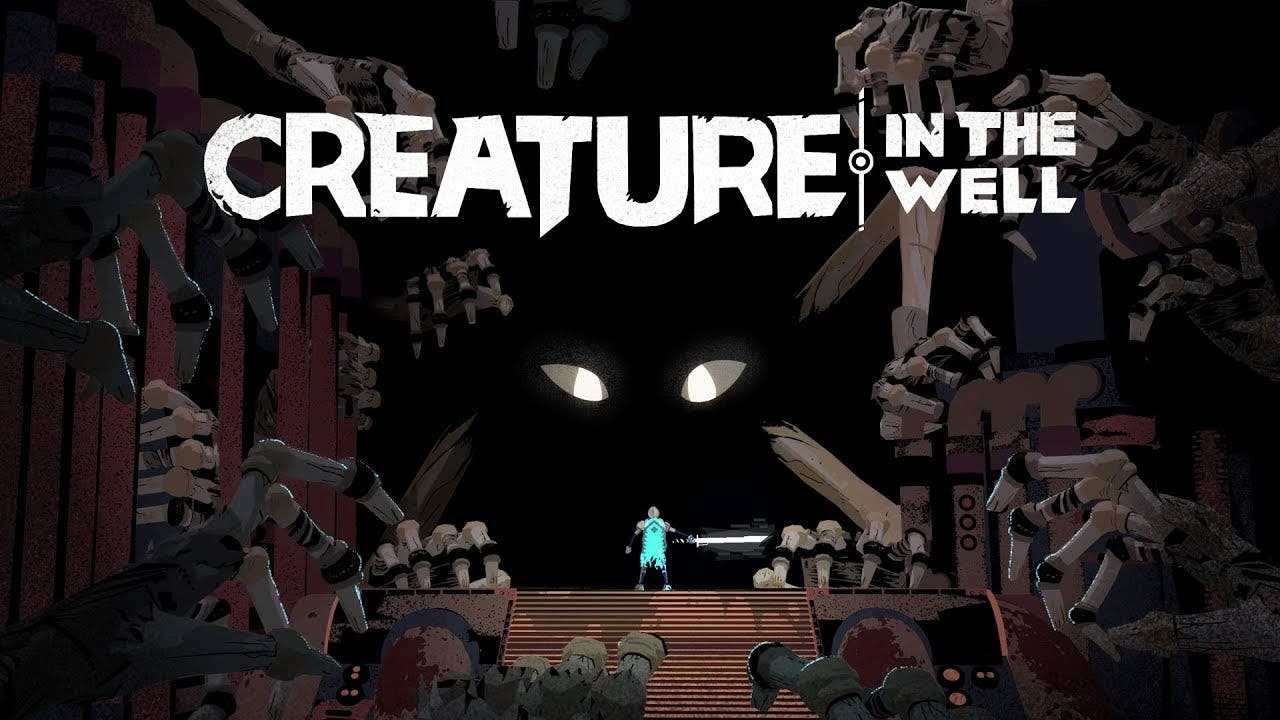 creature in the well bounces ont