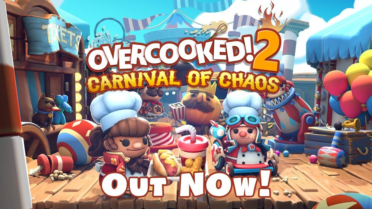 overcooked 2 begins the carnival
