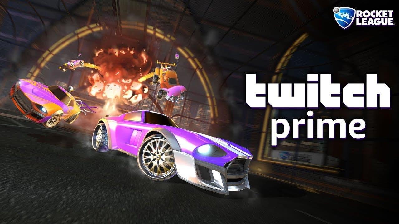 rocket league x twitch prime pro