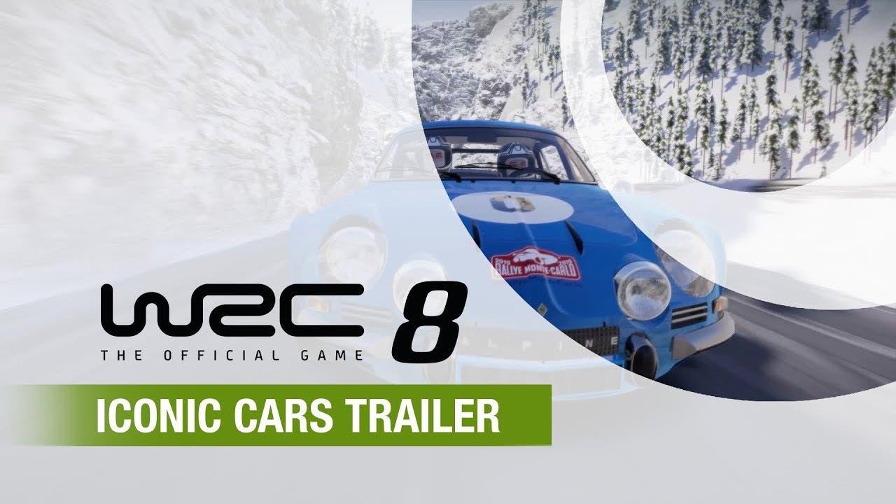 wrc 8 trailer showcases legendar