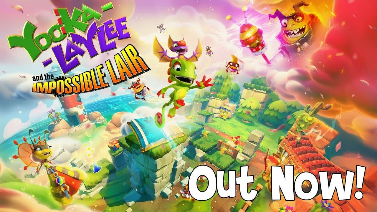 yooka laylee and the impossible