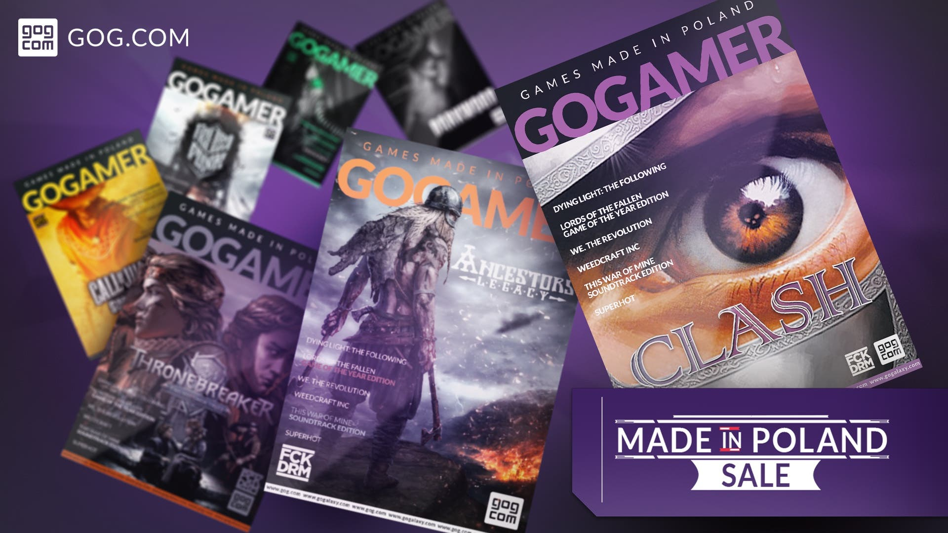 GOG Made in Poland Sale
