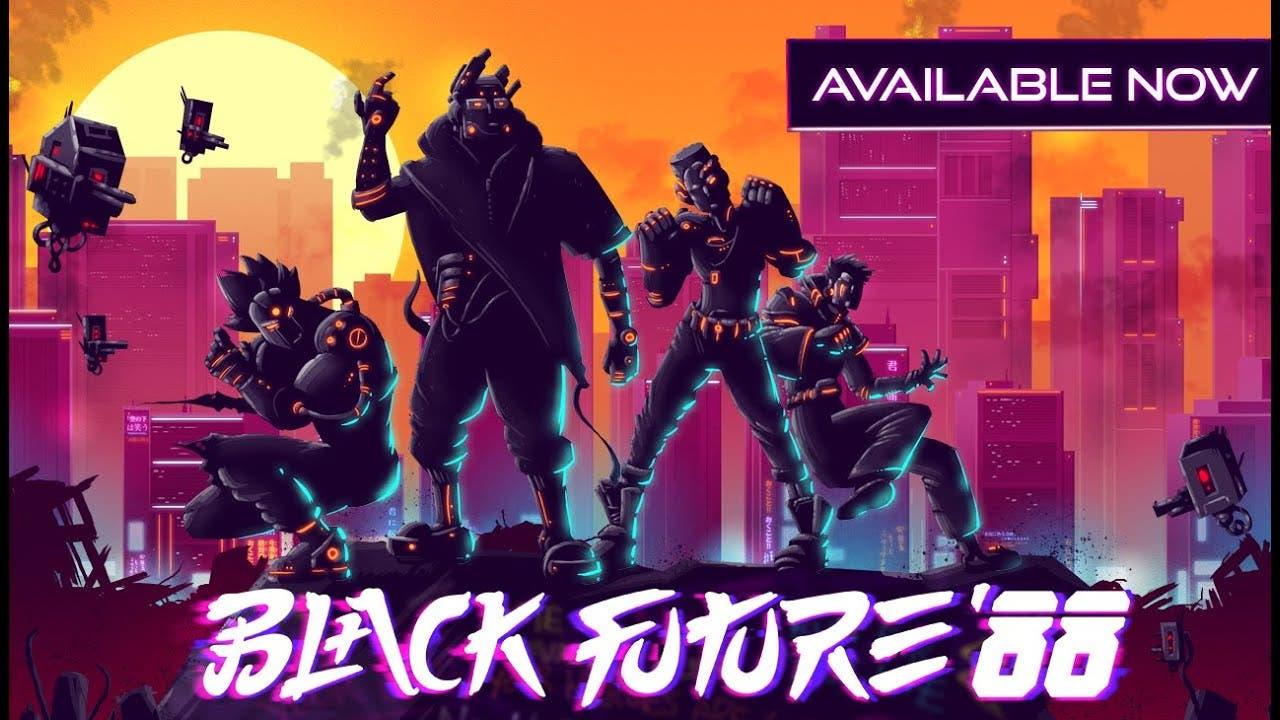 black future 88 the neon 2d rogu