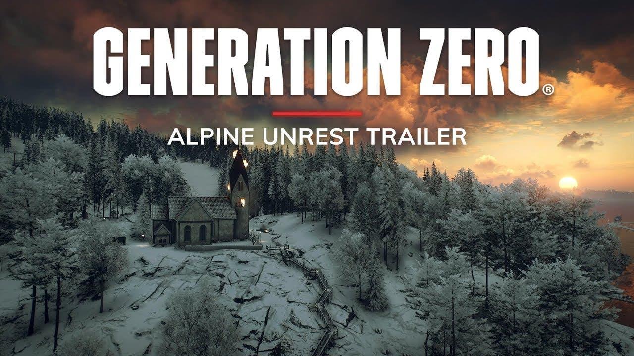 generation zero sees some alpine