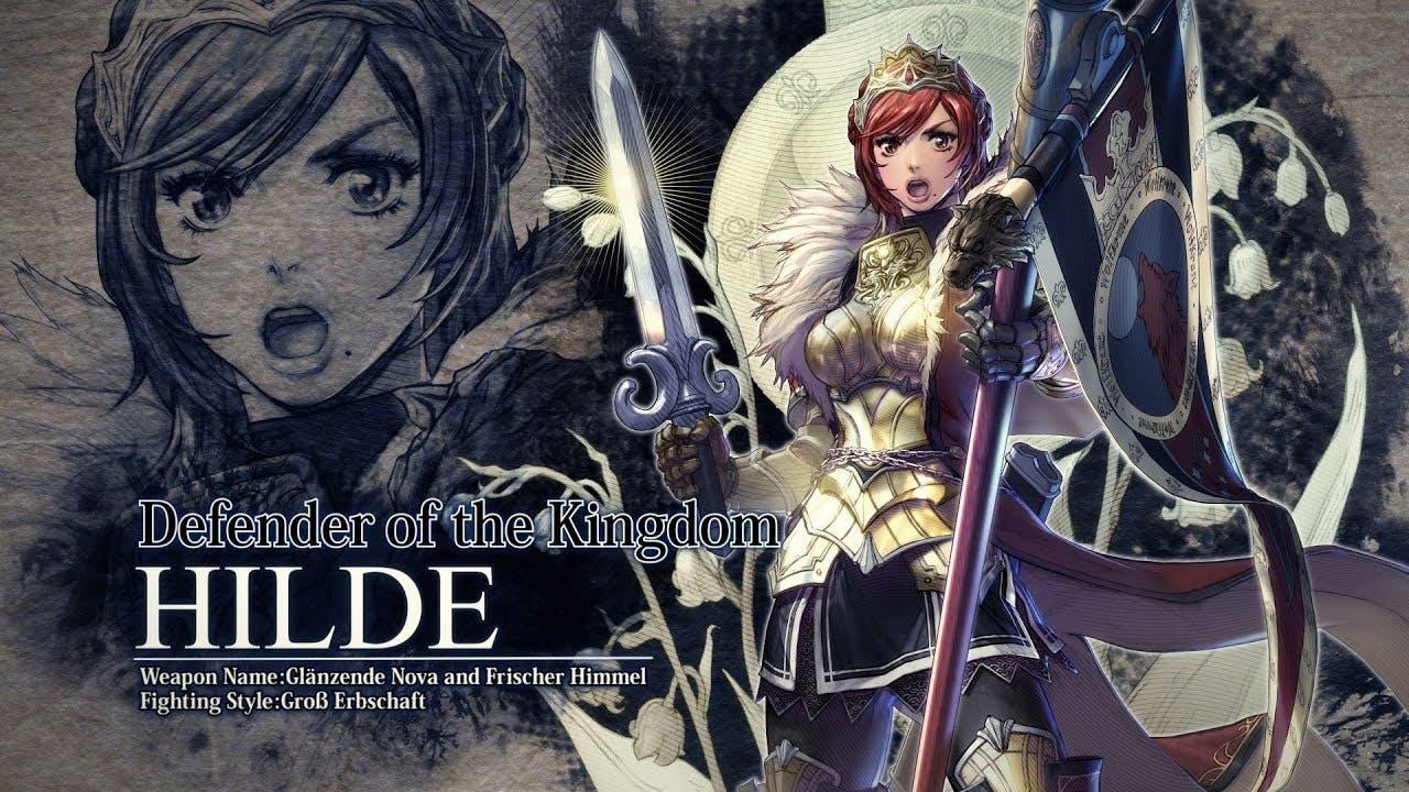 hilde joins soulcalibur vi in la