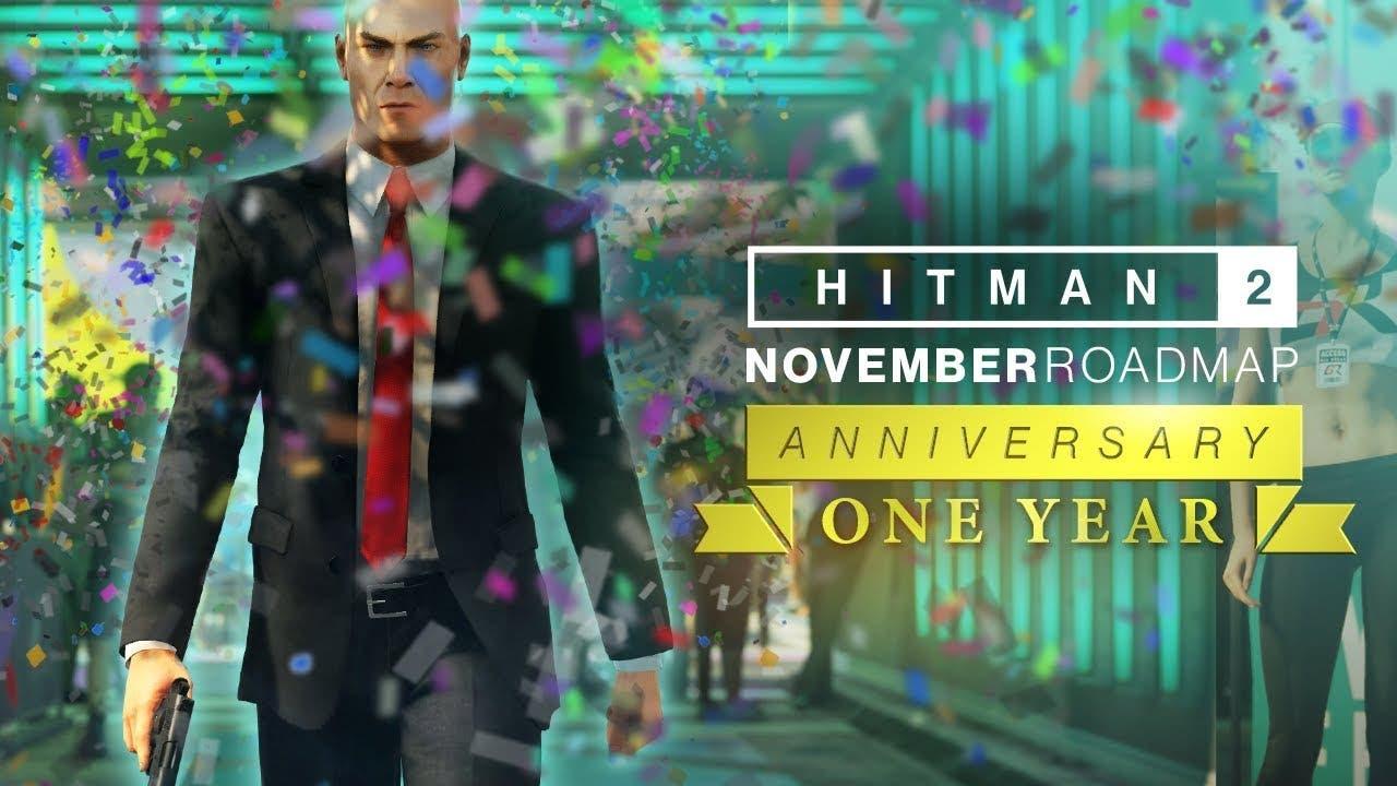 hitman 2 celebrates one year ann