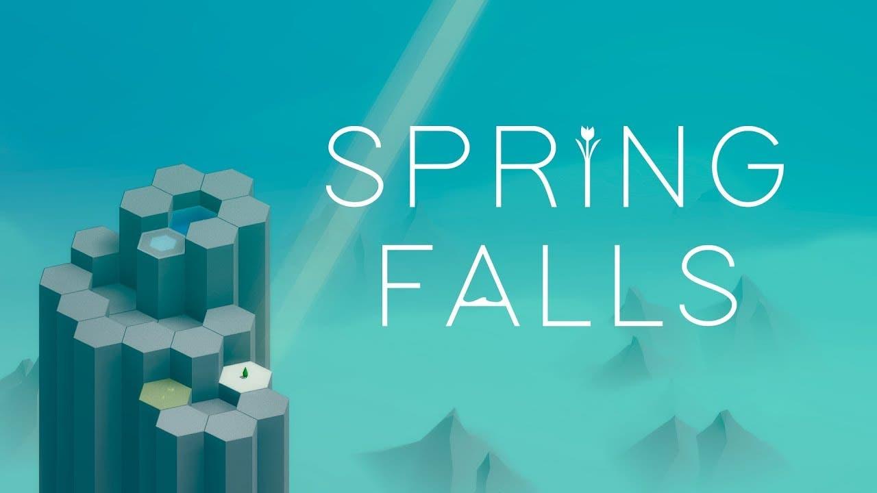 spring falls from sparse gamedev