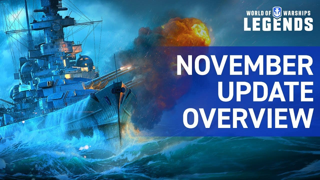 world of warships legends novemb