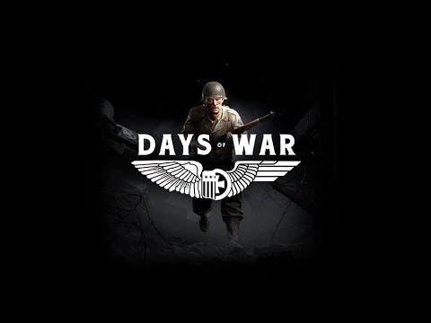 days of war trailer gives an ove