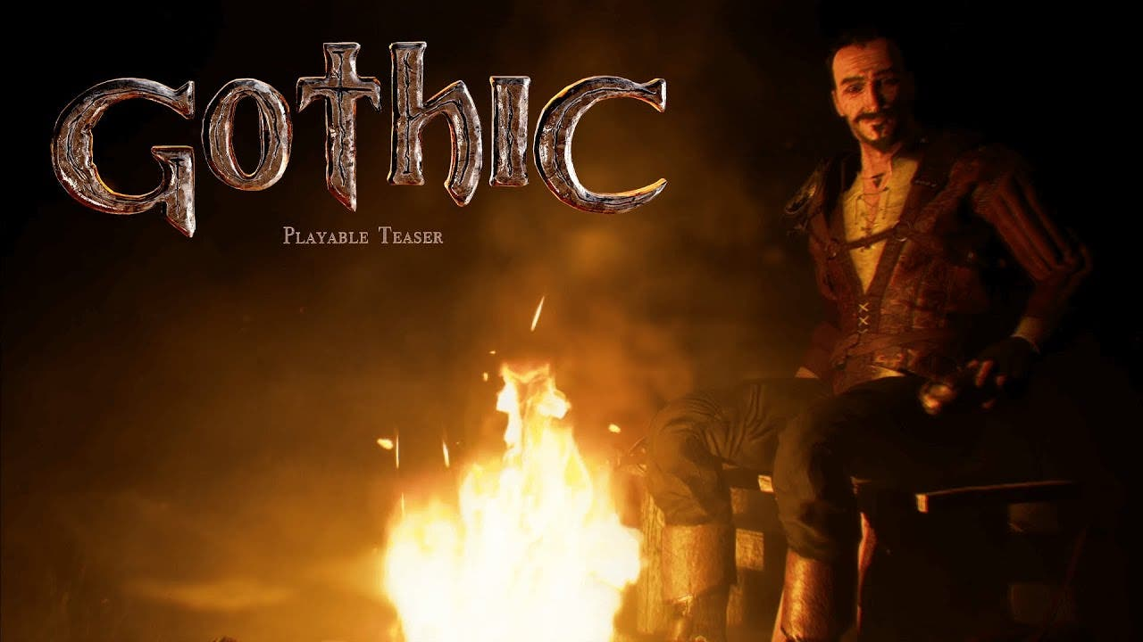 gothic remaster announced playab