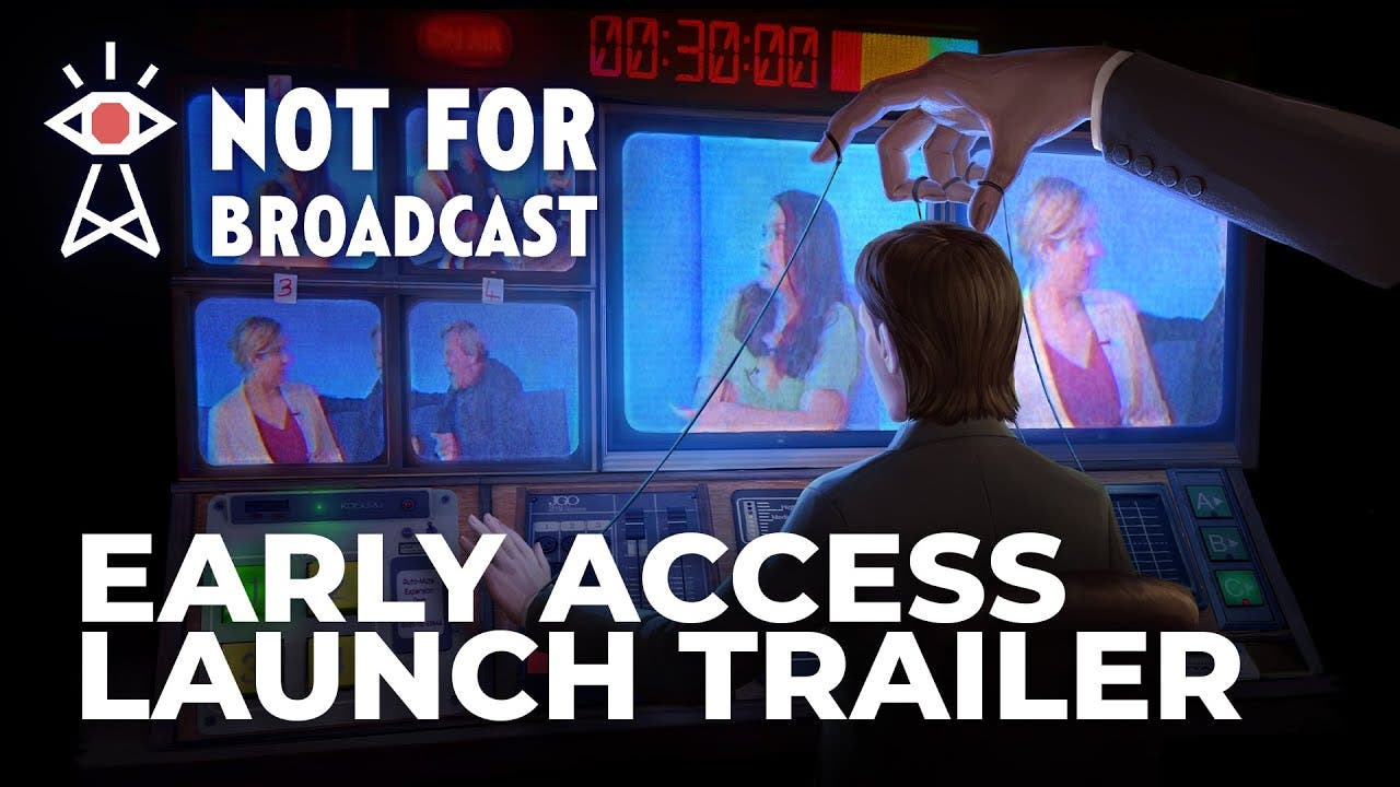 not for broadcast goes live with