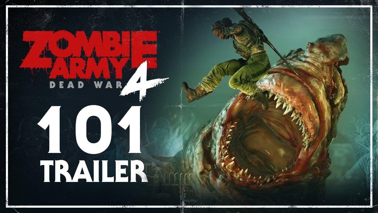 zombie army 4 dead war 101 trail