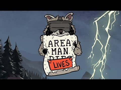 area man lives is a vr title whe
