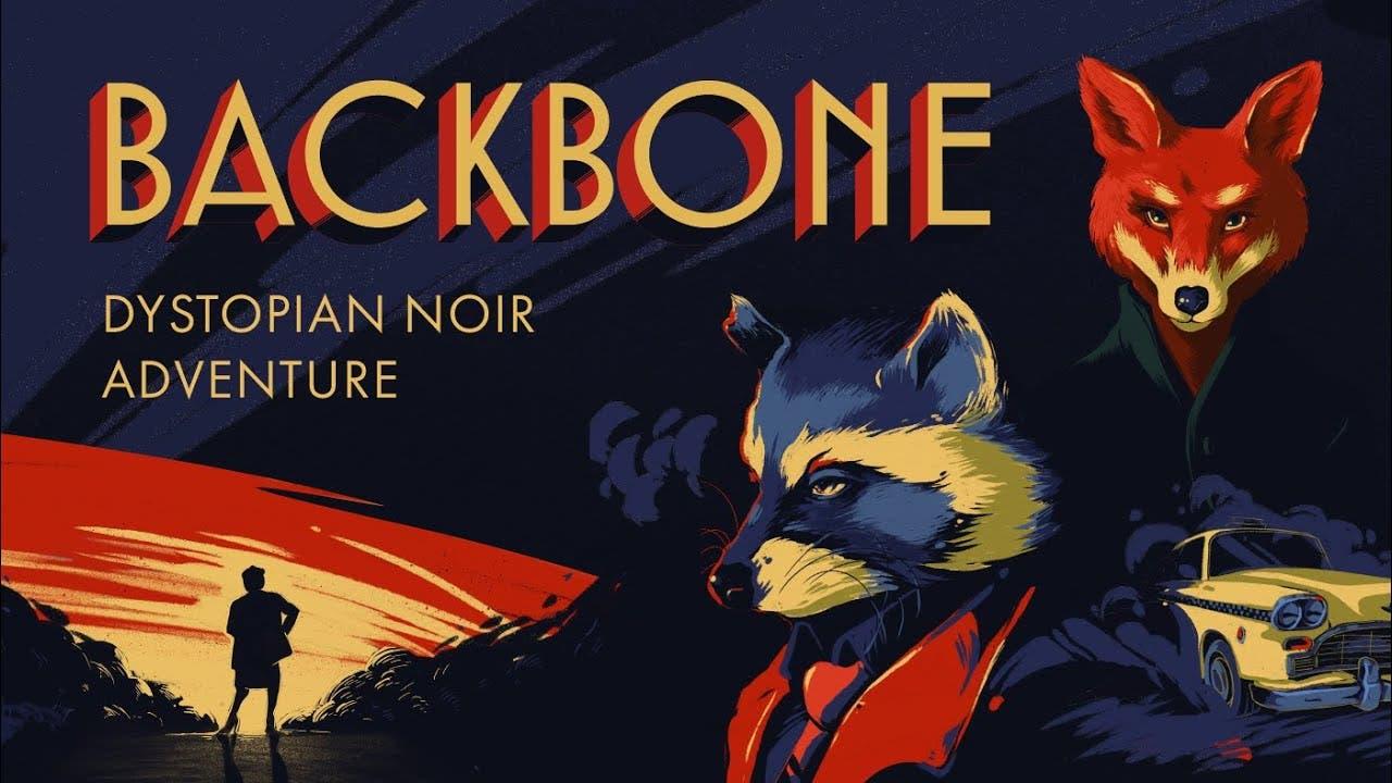 backbone is a noir adventure gam