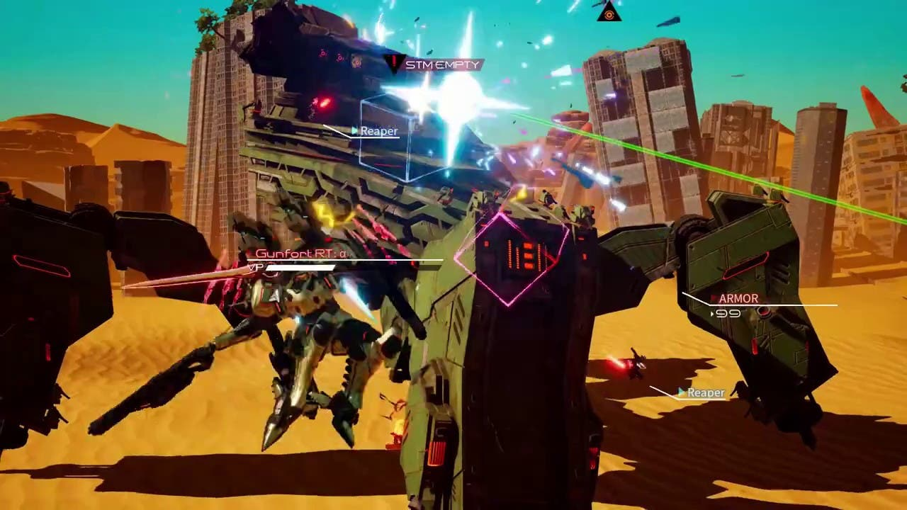 daemon x machina is coming to st