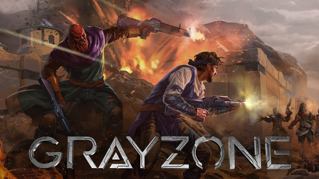 gray zone trailer gives a glimps