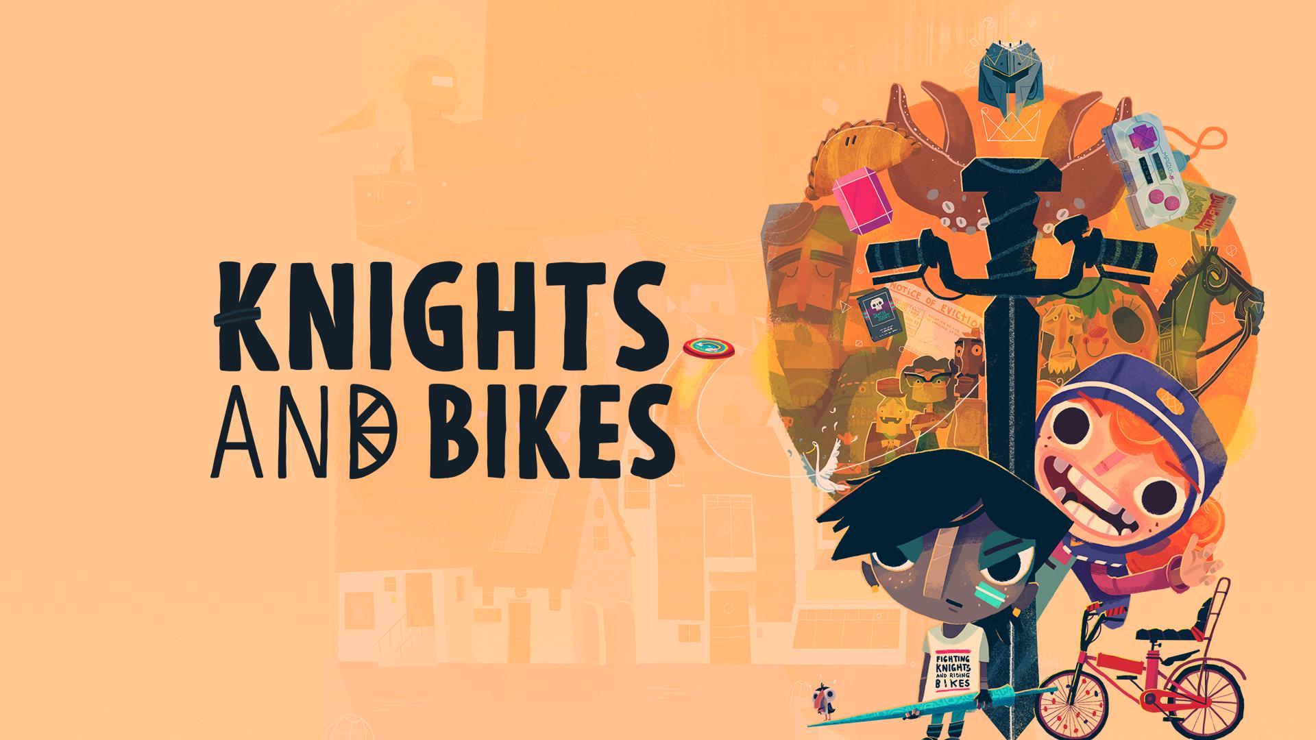knights and bikes wallpaper