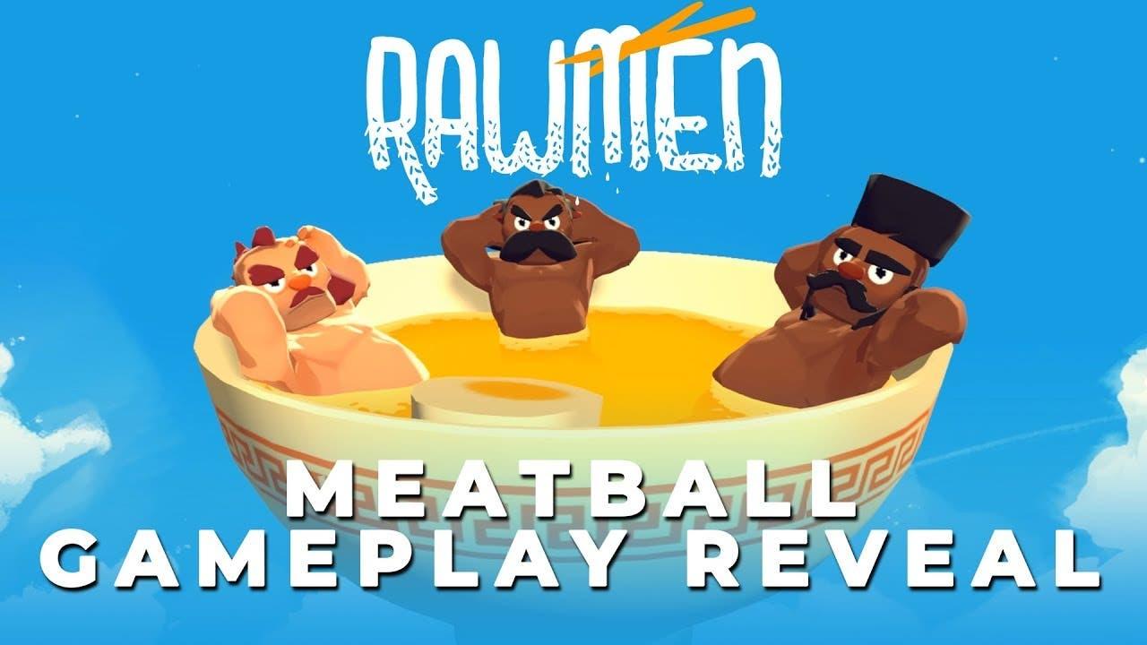 rawmen gameplay trailer released