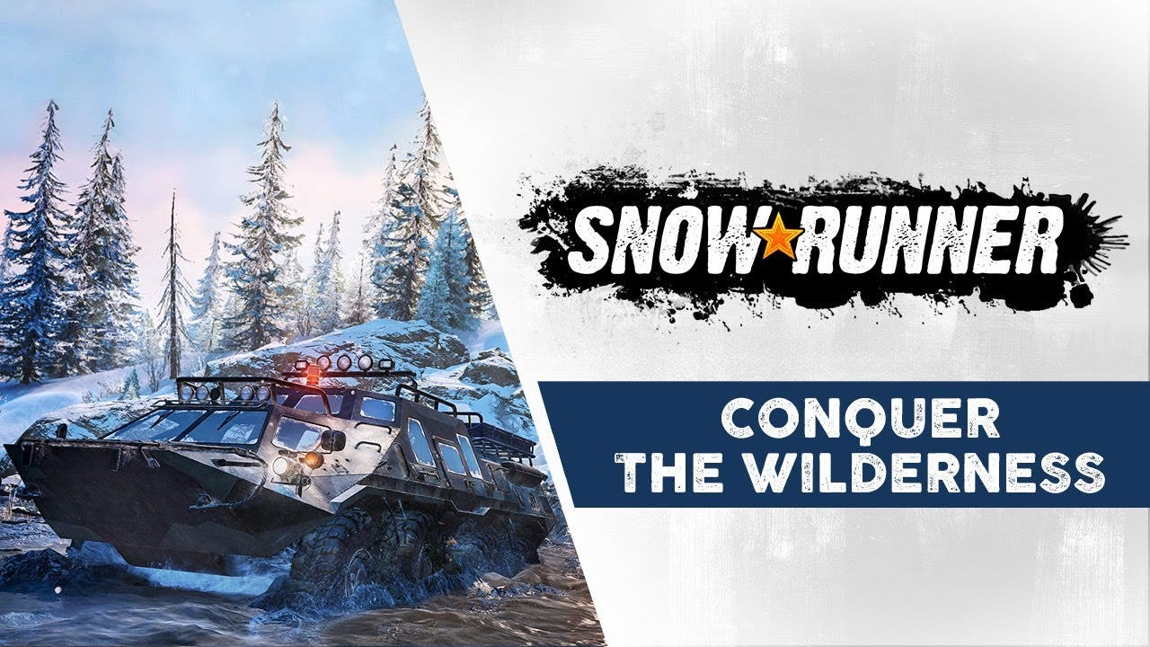 snowrunner gameplay trailer show