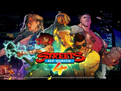streets of rage 4 trailer reveal